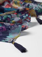 Garden Glitters Silk Scarf