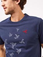 Origami Bird Graphic Tee
