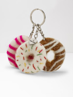 Trio of Donuts Keyring