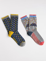 Rainy Day 2 Pack Socks