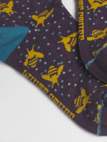 Buzzy Bee Single Sock