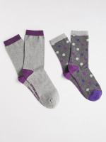 Sparkle Spot 2 Pack Socks