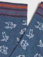 Origami Bird 2 Pack Socks