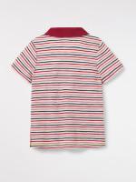 Alfie Striped Polo Tee