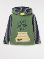 Can't Catch Me Hooded Tee