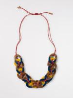 Woven Hoop Necklace