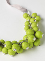 Kiwi Bobble Cluster Necklace