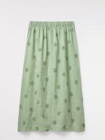 Roller Linen Maxi Skirt