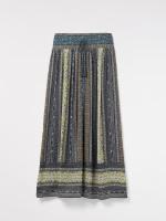 Asha Crinkle Woven Maxi Skirt