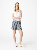 Stripe Anna Linen Short