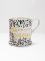 GinDependant Woman Mug