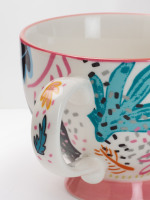 Jungle Leaf Decorative Mug