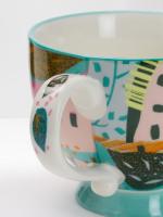 Leaf Dot Decorative Mug