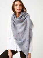 Little Wonders Emb Cat Scarf