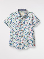 Kids Fishery Print Shirt