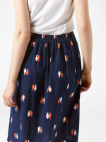 Aubrey Fish Print Skirt