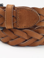Plait Leather Belt
