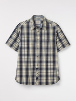 Mandini Indigo Check Shirt
