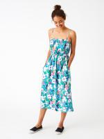 Tropical Toucan Bandeau Dress