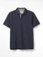 Durlston Printed Collar Fairtrade Polo