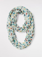 Marble Hearts Circle Scarf