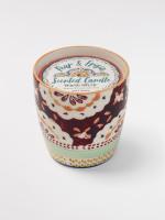 Pink Flourette Candle