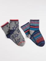Starry Short Ankle 2 Pack Sock