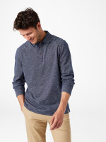 Wimborne Stripe Long Sleeve Polo
