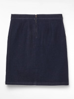 Clocktower Denim Skirt
