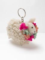 Festival Sheep Keyring