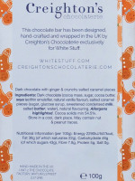 Ginger Crunch Chocolate Bar