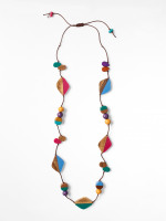 Callie Colour & Cord Necklace