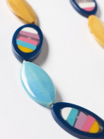 Petal Ceramic & Resin Necklace