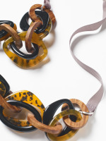 Long Tortoise Shell Necklace
