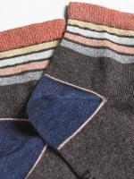 Sparkle Stripe Ankle 2 Pack