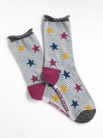 Patchwork Stars Socks