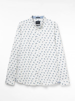 Aldenham Bird Print Shirt