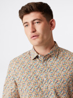 Saddington Print Shirt