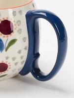 Ruby Sunflower Decorative Mug