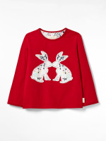 Kids Counting Bunnies Jersey Pj Set
