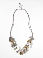 Flower & Cord Necklace