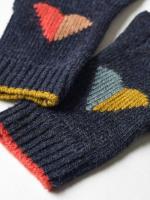 Kids Paper Hearts Hat & Gloves Set