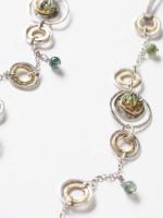 Semi Precious & Cord Necklace