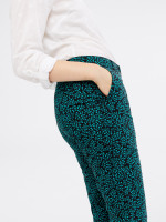 Printed Sussex 7 eighths Trouser