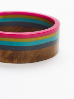 Wood & Resin Bangle