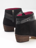 Sarah Strappy Cuban Ankle Boot