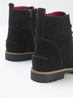 Carly Flat Lace Up Boots