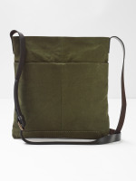 Issy Waxed Cotton Crossbody