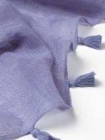 Savannah Linen Tassel Scarf