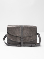 Audrey Metallic Tab Crossbody
